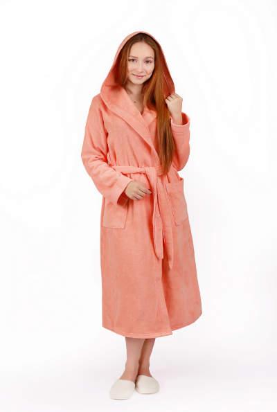 07eb14e3e6fe7 Купить домашний женский махровый халат с вышивкой в интернет магазине