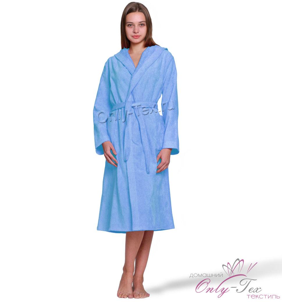 c158a975512a Купить домашний женский велюровый халат с капюшоном - Аннет 1